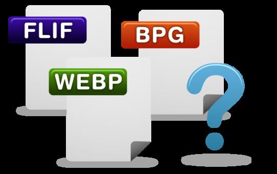 FLIF BPG WEBP