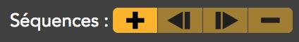 boutons séquences