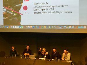 Conférence économie de la BD numérique 1