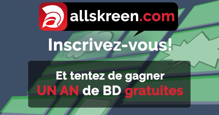 Jeu concours sur Allskreen.com